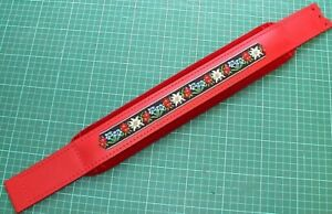 5 x 44 cm, Akkordeon (Leder) Bassgurt, Bassriemen, accordion bass belt, strap