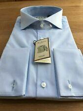 Thomas Pink, Blue CUTAWAY Collar Shirt, UK:17, EU:43, BNWT, RRP:£115!