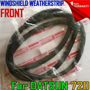 For Datsun Nissan 720 Ute Pickup 80-86 Front Weatherstrip Windshield Rubber Seal