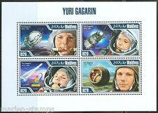 Maldives 2013 Yuri Gagarin Sheet Mint Nh