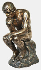 LARGE Veronese Bronze Replica of Auguste Rodin's ~ THE THINKER Sculpture Statue
