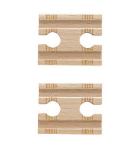 2 FEMALE TRACK ADAPTERS Thomas Tank Engine Wooden Railway NEW