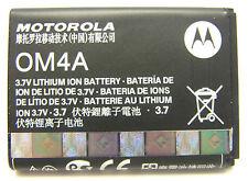 ORIGINALE Motorola ex210 GLEAM ex211 wx180 wx260 wx395 om4a 750mah BATTERIA BATTERY