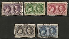 Luxembourg #B20-24 VF USED - 1927 Royalty & Philex