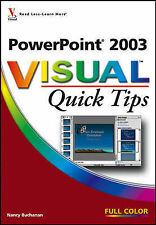 PowerPoint 2003 Visual Quick Tips by
