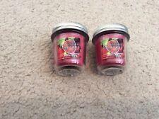 2x Bath And Body Works Sundrenched Vineyard Mason Jar Mini Candle RARE 1.3oz