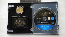 Injustice 2 PS4 Legendary Steelbook Edition with PS4 Game & Collectors Coin PS4