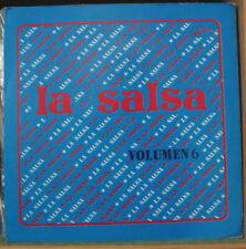 VARIOUS ARTISTS LA SALSA VOLUMEN 6 VENEZUELA PRESS LP SONIDO LATINO