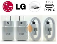 NEW ORIGINAL LG OEM Rapid Fast Wall Charger Type C Cable For LG V20 V30 G5 G6 G7