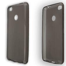 Tasche für Nubia N1 NX541J TPU-Hülle schwarz-transparent Handytasche Bumper Hüll