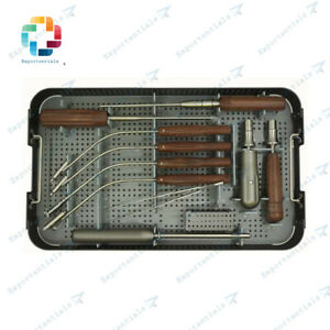 Orthopedic Anterior Cervical Plate System Instruments Set