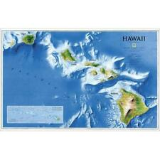 National Geographic RE00602061 Map Of Hawaii