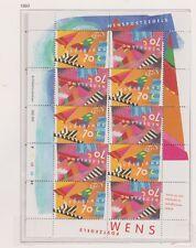 NVPH Nederland V 1546 - 1547 blok sheet MNH PF 1993 Netherlands Wenszegels