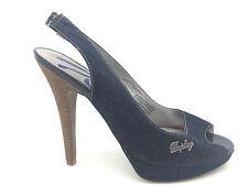 Clubwear Denim Upper Shoes for Women