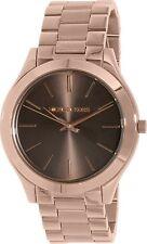 Michael Kors Women's MK3181 'Slim Runway' Rose-Tone Stainless Steel Watch
