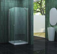 Duschkabine CASA-ONE 90x90x195cm Duschtasse Glas Duschtür Dusche Duschabtrennung