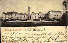 Üdvözlet Keszthelyröl Ungarn Magyarország 1901 Festetits palota gel. Schärbing