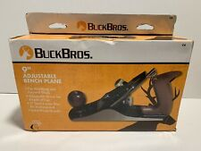 "Buck Bros. 9"" Bench Plane Adjustable depth for Finishing & General Work"