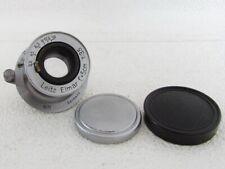 Leitz Elmar MTR F=5cm 1:3,5 Vintage Germany Original Lens to RF Leica Fed Zorki