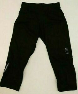 GORE WEAR R5 3/4 Length Women's Running Tights 36 Terra Grey/Black