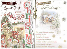 Special Couple Christmas Card Traditional, Cute Various Designs To Choose From