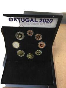 Coffret Be Pp Proof Kms Portugal 2020 De 1 Cet À 2 Euro