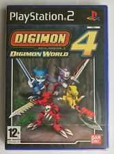 PS2 Digimon World 4 (2005), UK Pal, Brand New & Sony Factory Sealed