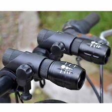 1200Lm Q5 LED Zoomable Bike Flashlight Extender Extension Tube Headlight Holder