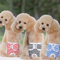 Cute Pet Female Dog Pants Sanitary Panties Underwear Hygienic Cotton Pup Briefs