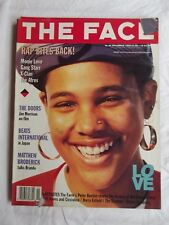 The Face Magazine, Nov 90, Monie Love, Gang Star, Doors, Trainer Shoes