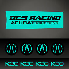 Acura Rim Decal KIT Car Sticker Honda Acura JDM Euro Decal - Pick Your Color