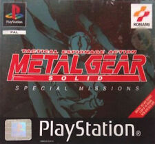 METAL GEAR SOLID PS PLAYSTATION Video Game Original UK Release Sealed