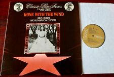 CHARLES GERHARDT GONE WITH THE WIND MAX STEINER LP RCA (1981) NR MINT ENGLAND