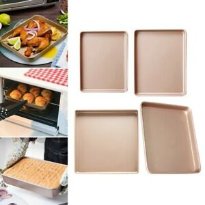 Non-Stick Square-Baking-Tray Cake Bread Pan Molds Oven Bakeware Cooking Kitchen