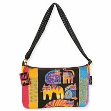 Laurel Burch Fantastic Feline Totem Medium Cat Purse Shoulder Bag Handbag