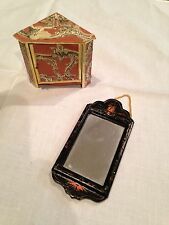 """DOLL HOUSE MINIATURES """"ORNATE CABINET AND MIRROR"""