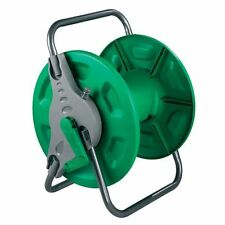NEW WALL MOUNTED FREE STANDING GARDEN HOSE REEL RUST PROOF WATER PIPE FREE POST