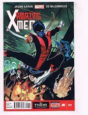 Lot Of 4 Amazing X-Men Marvel Comic Books # 1 2 3 4 Wolverine Gambit Storm J72