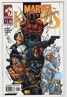 Marvel Knights #1 (2000) Daredevil, Black Widow, Punisher, Dagger, Shang-Chi D
