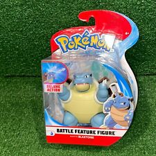 NEW Nintendo Pokemon Battle Feature Action Figure BLASTOISE - Wicked Cool Toys