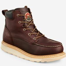 "Irish Setter Mens 6"" Work BOOTS Ashby Soft Toe Brown 83605 11"