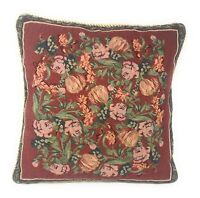 "DaDa Bedding Elegant Red Roses Love Floral Throw Pillow Cushion Cover, 18"" x 18"""