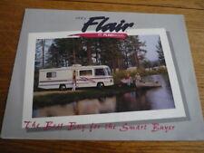 FLEETWOOD ENTERPRISES FLAIR MOTOR HOME BROCHURE 1995