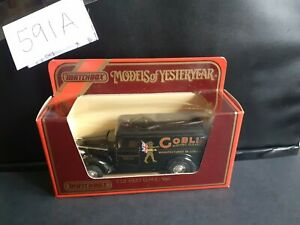 Matchbox MOY Y-12/5 GMC T14 126 Van - Goblin Electric Cleaners -