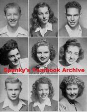 1946 Bakersfield CA High School Yearbook ~ Photos History NFL Frank Gifford ~ ++