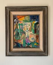 "Abstract Oil Painting Signed ""de Kooning""?"