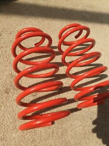 S011036 SPAX LOWERING SPRINGS fit Ford  Fiesta XR2i;RS Turbo;RS 1800;Si (1 89>93