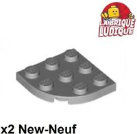 Lego 6015349 plate 6x6 with tube snap x4