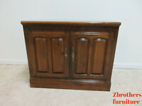 Ethan Allen Classic Manor Console Server Liquor Cabinet Bar 204