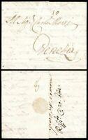 1771, Augsburg, kpl. Auslands-Teilfrankobrief nach Venedig